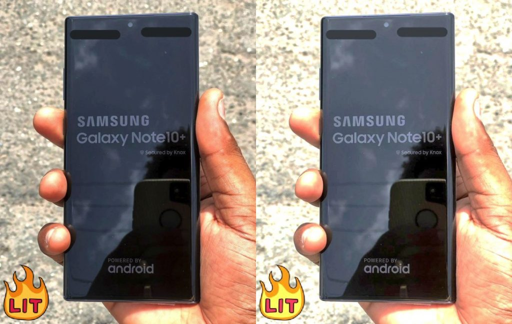 Filtración Samsung Galaxy Note 10