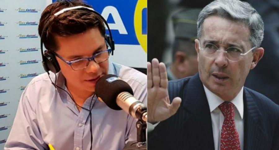 Entrevista a Uribe en La FM