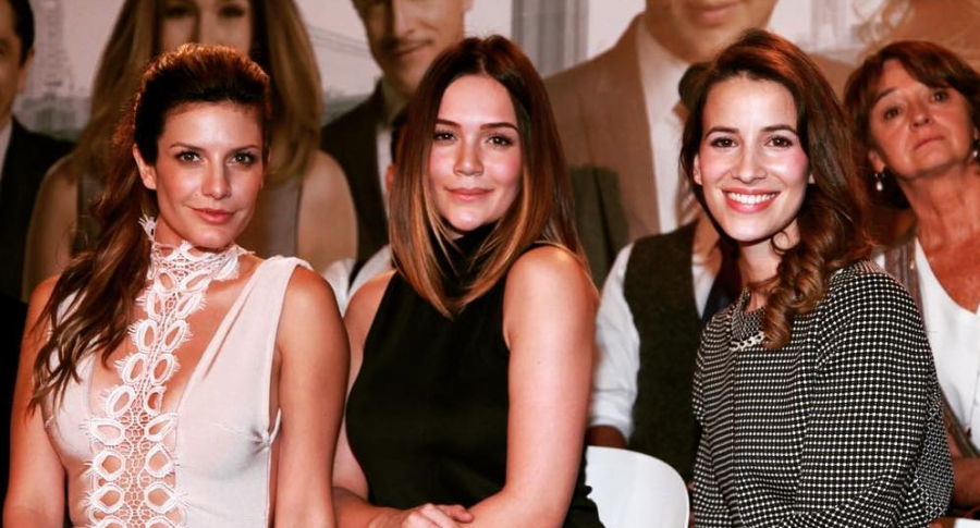 Mabel Moreno, Lina Tejeiro y Laura Londoño