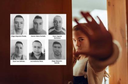 Hombres acusados de abuso y adolescente