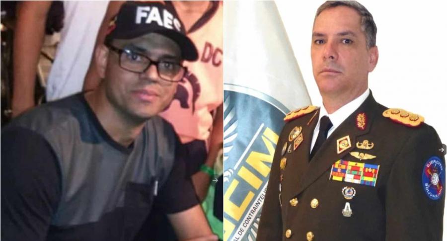 Rafael Enrique Bastardo e Iván Hernández Dala