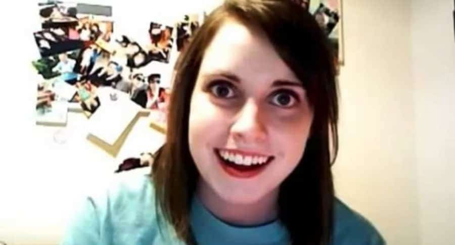Protagonista del meme 'novia psicópata'.