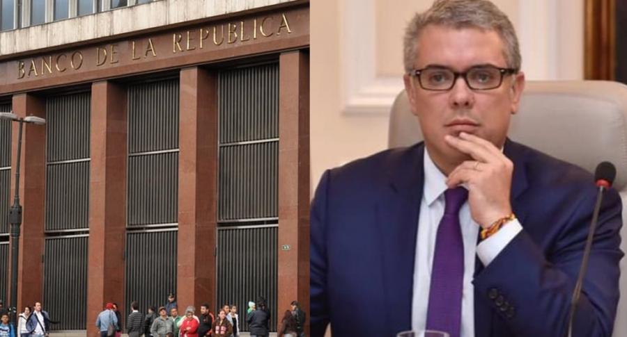 Banco de la República-Iván Duque