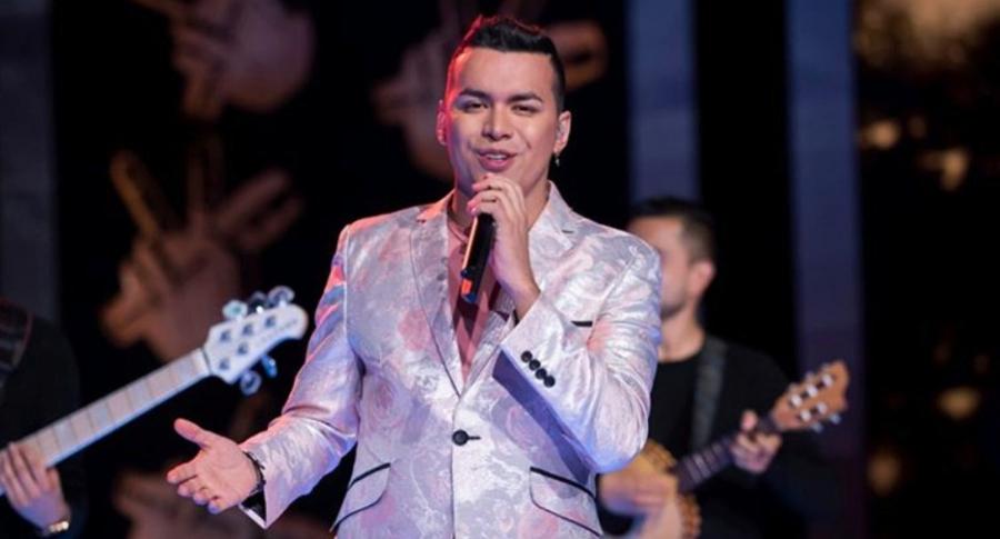 Yeison Jiménez, cantante de música popular.