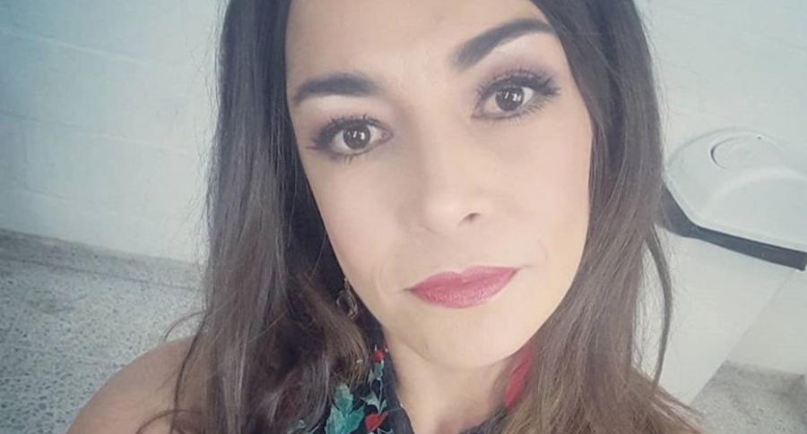 Susy López, humorista.