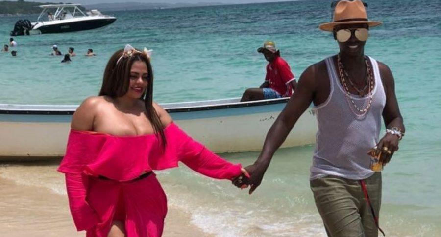 Omar Murillo y su esposa, Koral Costa