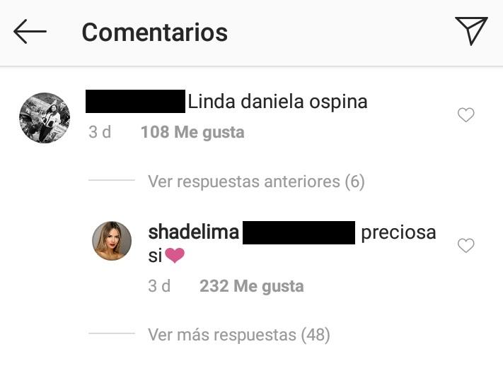 Comentarios post Shannon de Lima