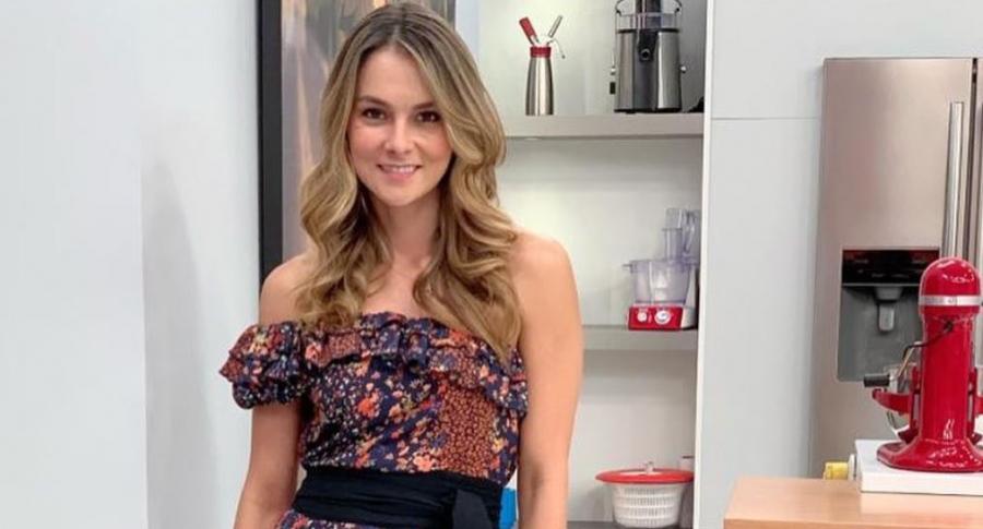 Catalina Gómez, presentadora.