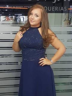Ana Victoria Beltrán, actriz.