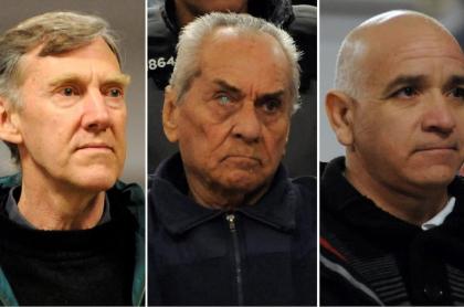 Horacio Corbacho, Nicola Corradi y Armando Gomez