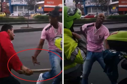 Ataque con palo a presunto ladrón en Bogotá