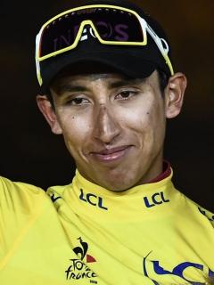 ¡Orgullo colombiano! Egan Bernal, elegido mejor deportista del año por El Espectador