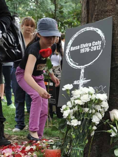 Conmemoración a Rosa Elvira Cely en el Parque Nacional