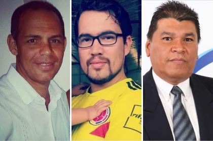 Eduardo Manzano, Fransuá Martínez y Miguel Ángel Palta