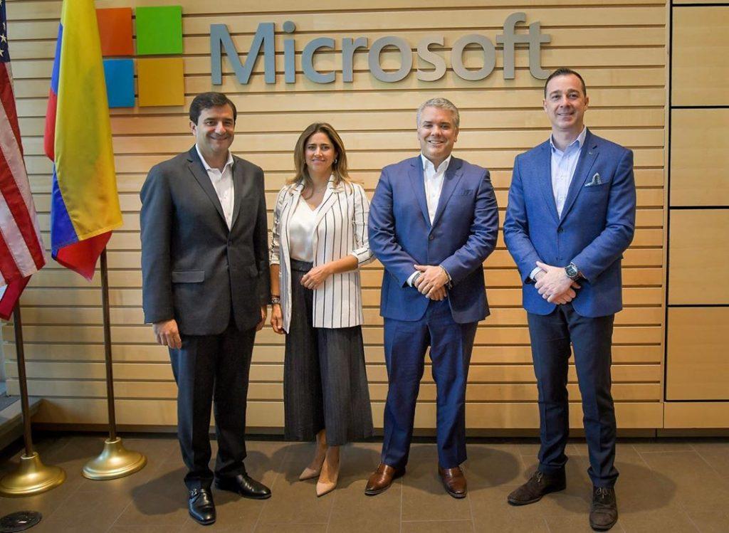 María Juliana Ruiz en Microsoft