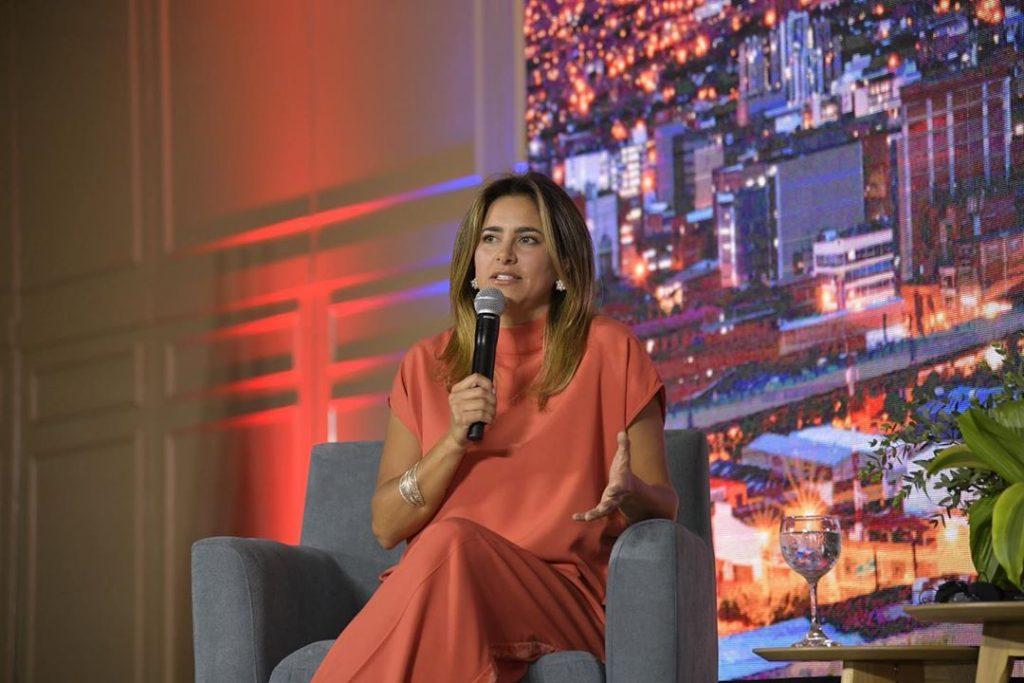 María Juliana en Foro del Sector Privado de las Américas