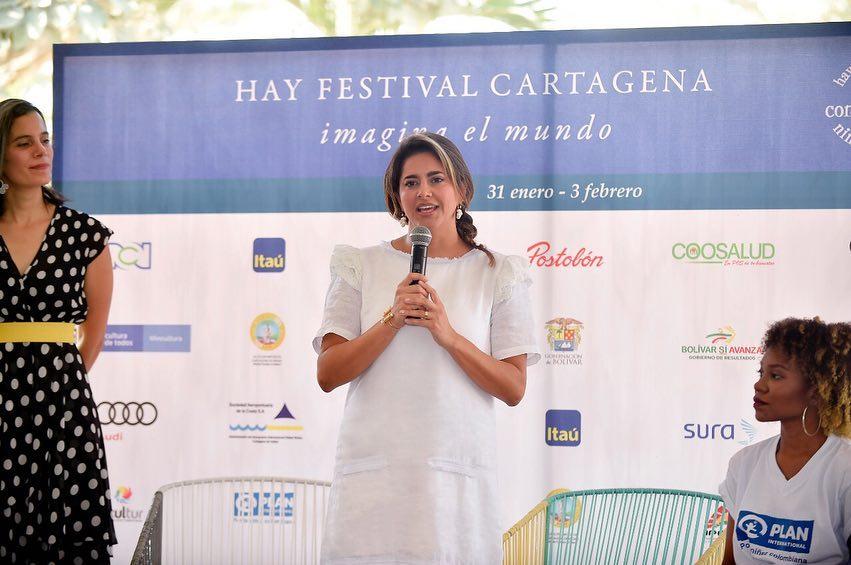 María Juliana Ruiz en 'Hay Festival'