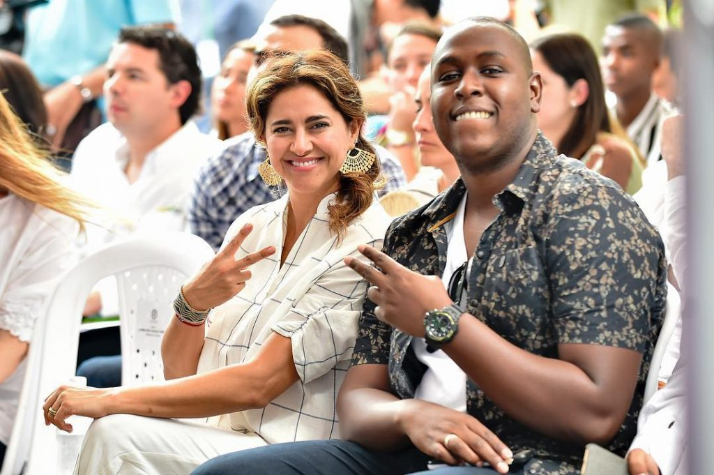 María Juliana visita Buenaventura para promover la Estrategia Sacúdete Crea