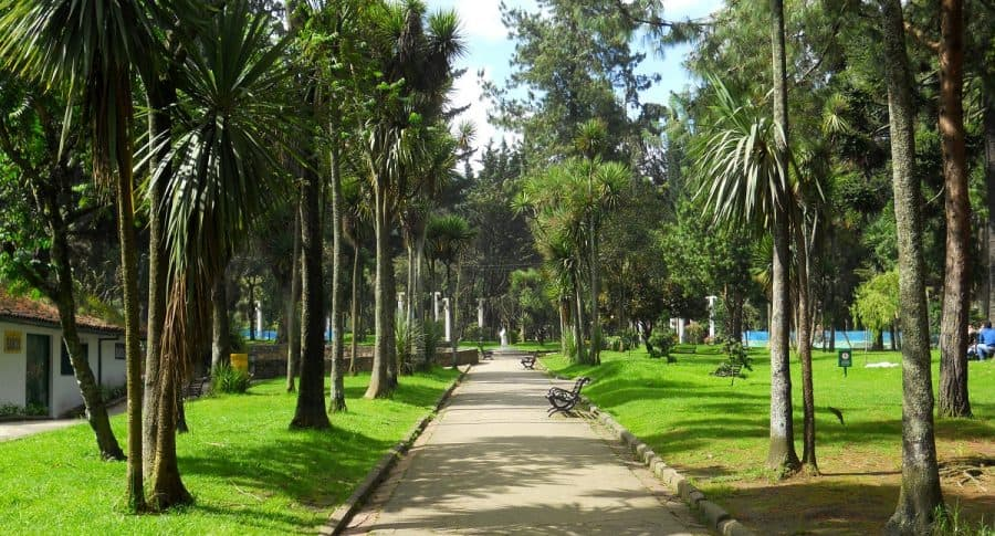 Parque Nacional, en Bogotá