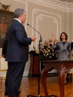 Posesión de los ministros de Iván Duque