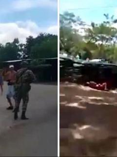 Enfrentamiento en La Lizama
