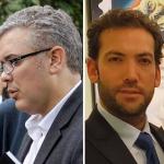 Álvaro Uribe, Iván Duque y Martín Santos