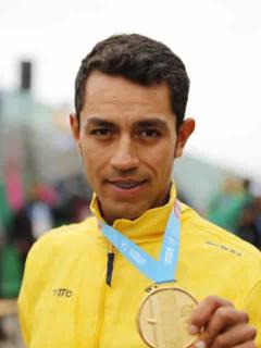 Daniel Martínez oro Lima 2019