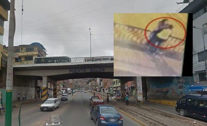 Puente Belén, en Cusco (Perú)