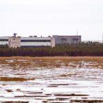 Base militar Nyonoska, en Rusia