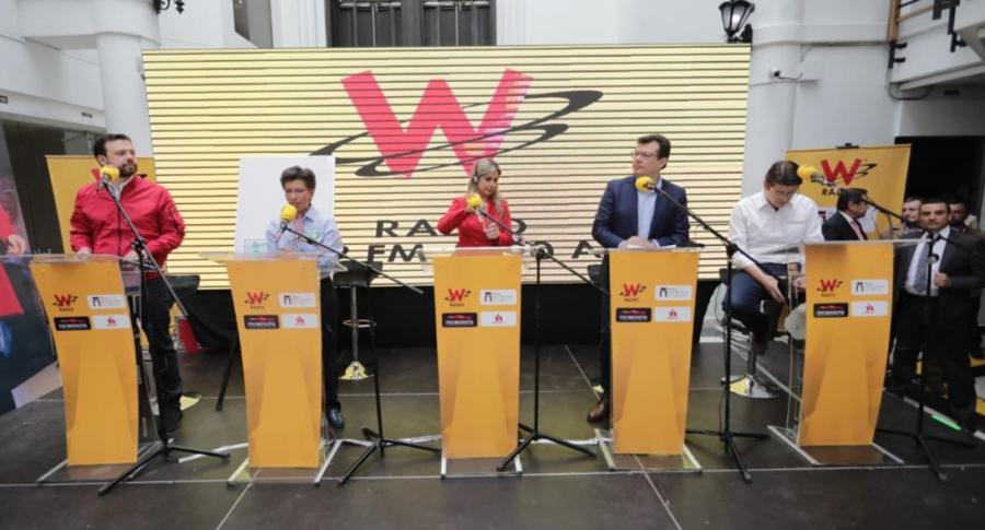 Debate en La W