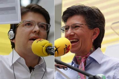 Claudia López y Miguel Uribe