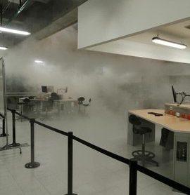 Incendio en Universidad Los Andes