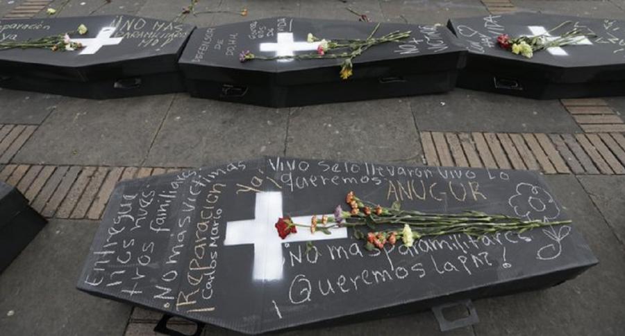 Víctimas en Colombia