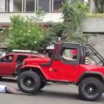 Hombre que arrolló a conductor de SITP con su campero