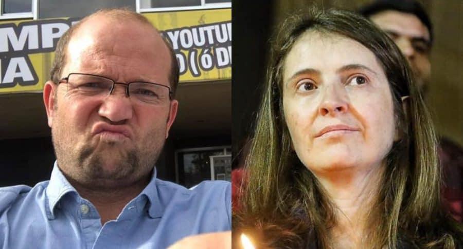 Daniel Samper y Paloma Valencia