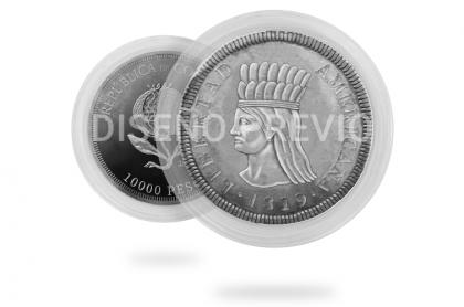 Diseño moneda de 10.000 pesos