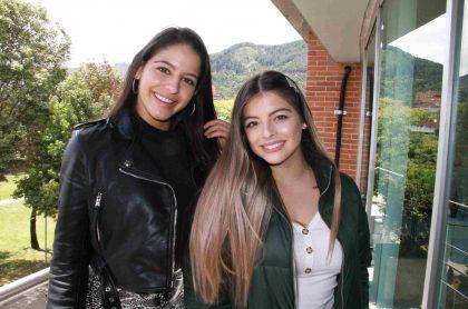 Las hermanas Legarda visitaron las oficinas de Pulzo.