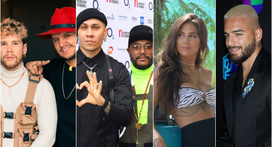 Piso 21 / Black Eyed Peas/ Greeicy Rendón / Maluma