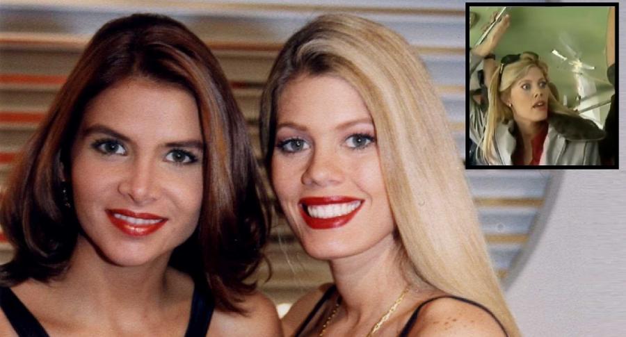 Natalia Ramírez y Lorna Cepeda, actrices.