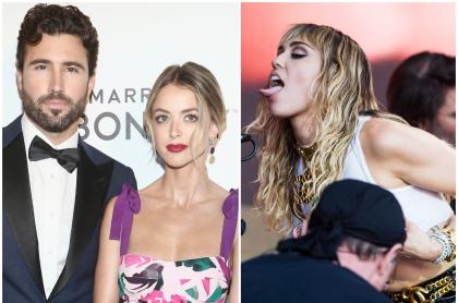 Brody Jenner y Kaitlynn Carter / Miley Cyrus