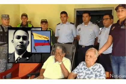 Familiares de Sebastian Gamboa