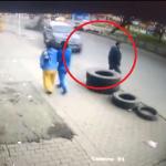 Ladrón atropelló a traseúnte, mientras intentaba huir
