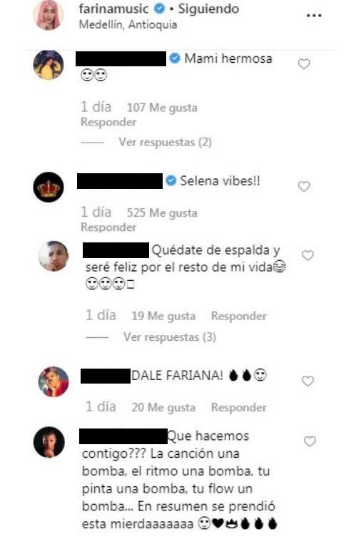 Comentarios post Farina
