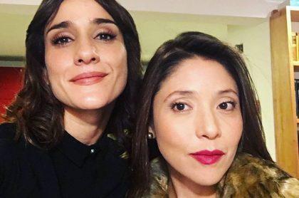 'Chichila' Navia y Diana Belmonte, actriz.