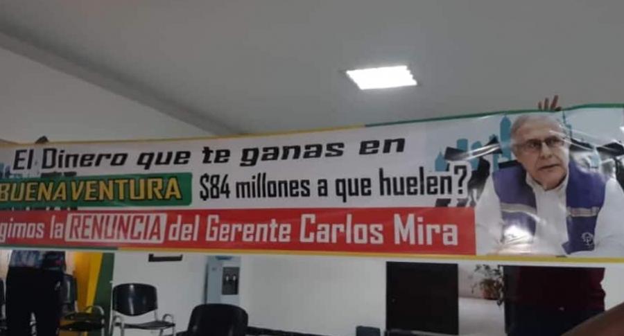 Trabajadores de Buenaventura, ofendidos por declaración del empresar