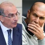 Humerto de la Calle y Zinedine Zidane
