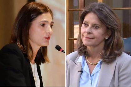 Ángela María Orozco y Marta Lucía Ramírez