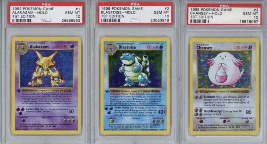 Colección de 'Pokémon'.