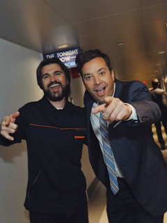Juanes y Jimmy Fallon