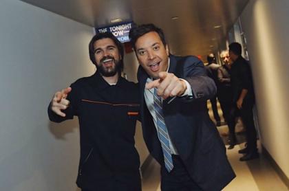 Juanes y Jimmy Fallon